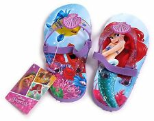 YOUNG GIRLS LITTLE MERMAID FLIP FLOP SANDALS STRAP SIZE UK 5-6 EUR 22-23 USA 6-7