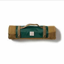 Filson Dog Travel Mat Bed Size Medium Tan Green New with Tags MSRP $150