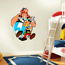 "Asterix and Obelix Cartoon Kids Wall Decor Sticker Decal 19"" x 25"""