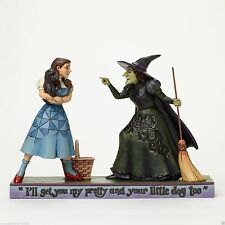 Jim Shore Wizard of OZ Dorothy & Toto w/ Wicked Witch-get you my pretty 4046423