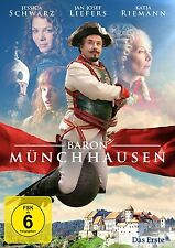 BARON MÜNCHHAUSEN (Jan Josef Liefers, Jessica Schwarz) NEU+OVP