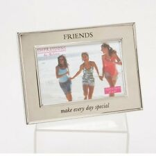 "FRIENDS Picture 6x4"" Shiny Silver Photo Frame NEW  16417"