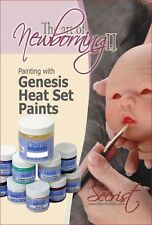 Reborn Doll Supplies DVD: Painting with Genesis Heat Set Paints