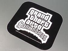 $$$$$ GRAND THEFT AUTO SAN ANDREAS PROMO STICKER $$$$$ ROCKSTAR GAMES $$$$$