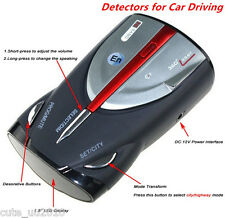Car Driving 16-Band Radar Detector Cobra XRS 9880 Laser Anti Radar Detector 360°