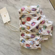 Gucci baby girl diaper cover new with tags 100% cotton Italy 100% authentic