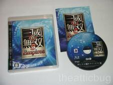 Sony Playstation 3 / PS3 ~ Shin Sangoku Musou 5 Empires ~ Japanese release ~ RPG