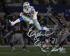 EZEKIEL ELLIOTT Dallas Cowboys signed hurdle 8 x 10 Photo