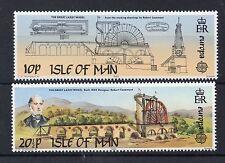 ISLE OF MAN 1983  SG 249 - 250 U/M