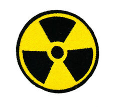 PATCH RICAMO TOPPA toppe  RADIOATTIVO RADIOACTIVE RAGGI X backpack