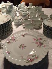 6 assiettes Plates Haviland Porcelaine De Limoges Sylvie Dinner Plate