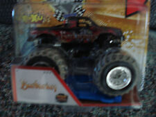 2013 Monster Jam Truck  BARBARIAN MUD TRUCK  with Crushable Car