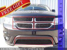GTG 2011 -2016 Dodge Journey R/T / SXT 5PC Gloss Black Overlay Billet Grille Kit