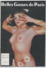 Belles Gosses de Paris Photo Curiosa Revue de Charme Frivole Nu Pin Up Girls