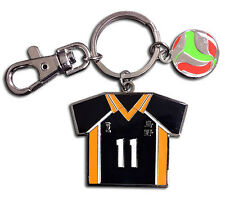**License** Haikyuu Keychain SD Kei Tsukishima's No.11 Volleyball Uniform #38600