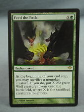 MTG Magic the Gathering Card X1: Feed the Pack - Dark Ascension EX/NM