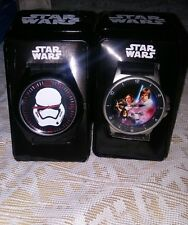 2 New STAR WARS: Storm trooper Watch Ships FREE! Original!