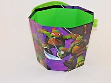 Ninja Turtles 8 Inch Halloween Bucket Costume Easter Hunt Holiday Decoration