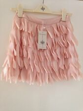 Ravi Famous Salmon Feather Effect Skirt