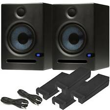 Presonus Eris E5 Studio Monitors Kit - Isolation Pads & Cables - Free Delivery