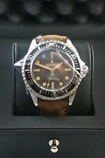 STEINHART OCEAN One Vintage Military Diver Watch T0225 Men Swiss Leather band