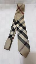 Men's Burberry London 100% Silk Tie Made in Italy