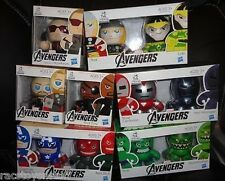 THE AVENGERS MINI MUGGS SET OF 11 FIGURES ALL UNOPENED  FREE U.S. SHIPPING
