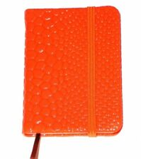 Small Note Book Pocket Size Neon Orange New