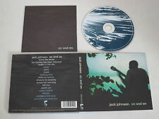 JACK JOHNSON/ON AND ON(THE MOONSHINE CONSPIRACY 075 012 2) CD ALBUM
