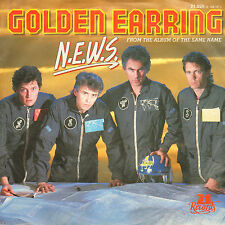 "GOLDEN EARRING - N.E.W.S. (1984 NEDERPOP VINYL SINGLE 7"")"