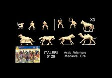 1/72 Italeri 6126 Medieval Arab Warriors cavalry toy soldiers  MIB