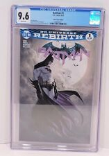 DC Comics Batman Rebirth #1 Aspen Comics Variant CGC Graded 9.6