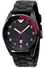 Emporio Armani AR5892 Tazio Black Rubber Sports Mens Designer Watch RRP £199