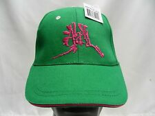 ALASKA - GREEN - ADJUSTABLE BALL CAP HAT!