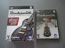 Rocksmith 2014 Edition (PC/Mac) & Learn To Play Bass (PC)  2 Items With Cord