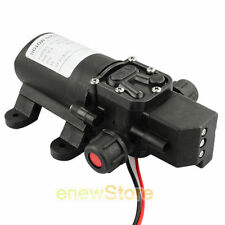DC 12V 70W Motor Electric High Pressure Diaphragm Water Self Priming Pump 6L/Min