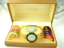 GUCCI LADIES ELEGANT 1100L 11/12.2 BEZEL WATCH 12 BEZELS 971