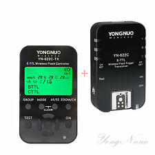 Yongnuo TTL YN-622C-TX  Flash controller + YN-622C  Flash Trigger for Canon