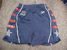 Official Men's USA Basketball Game Worn Navy Reebok Basketball Shorts Size- M