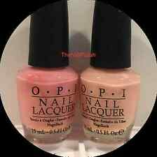 2 OPI Nail Polish HEART THROB NL H18 & PASSION NL H19 Nail Lacquer BRAND NEW