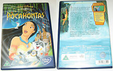 DISNEY POCAHONTAS - UK REGION 2 PAL DVD