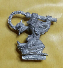 Warhammer Fantasy Skaven Plague Monk Census Bearer - Metal - Unpainted