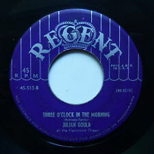 JULIAN GOULD Three o'clock in the morning Avalon Hammond organ REGENT 45 513