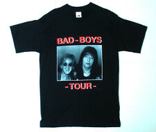 BAD BOYS OF KISS TOUR Ace Frehley & Peter Criss T Shirt Canadian Edition