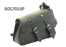 MOTORCYCLE Solo SaddleBag SIDE BAG  For Harley Davidson Sportster 883 Low XL883L