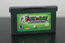 Mario Golf: Advance Tour (Nintendo Game Boy Advance, 2004) *Tested