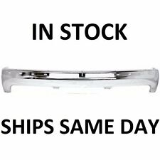 NEW Chrome Front Bumper Impact Bar For 1999-2002 Chevy Silverado Suburban Tahoe