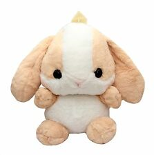 Kawaii Huge Brown Bunny Plush Backpack Bag Cute Japan Loppy Rabbit Lolita