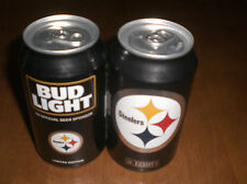 2016 PITTSBURGH STEELERS BUD LIGHT BEER CAN -  B0