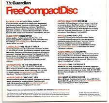 FCD The Guardian 10 Track Promo CD Fatboy Slim/Kaiser Chiefs/Mercury Rev/Annie+